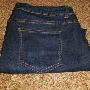 Pants - Plus size 20 Jean denim capris